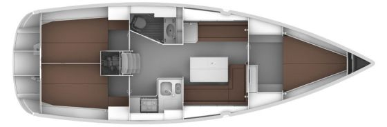 BAVARIA CRUISER 36 Layout Image